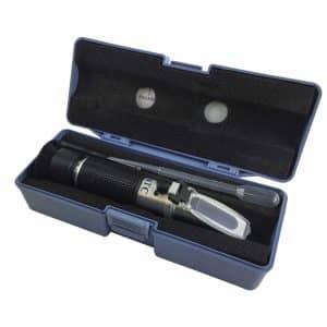refractometer in handige opbergdoos