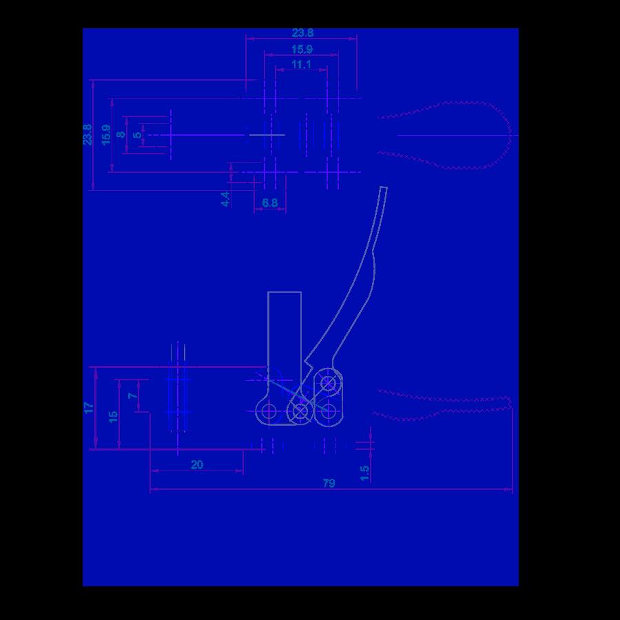 technische tekening HS-201